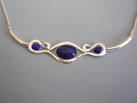 collier ras de cou lapis lazuli boutique. Black Bedroom Furniture Sets. Home Design Ideas